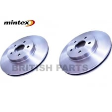 Brake Disc Kit Front Pair