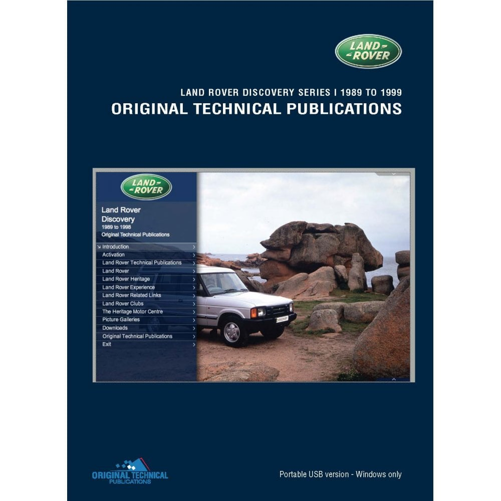 Discovery ( 1 ) Technical publication