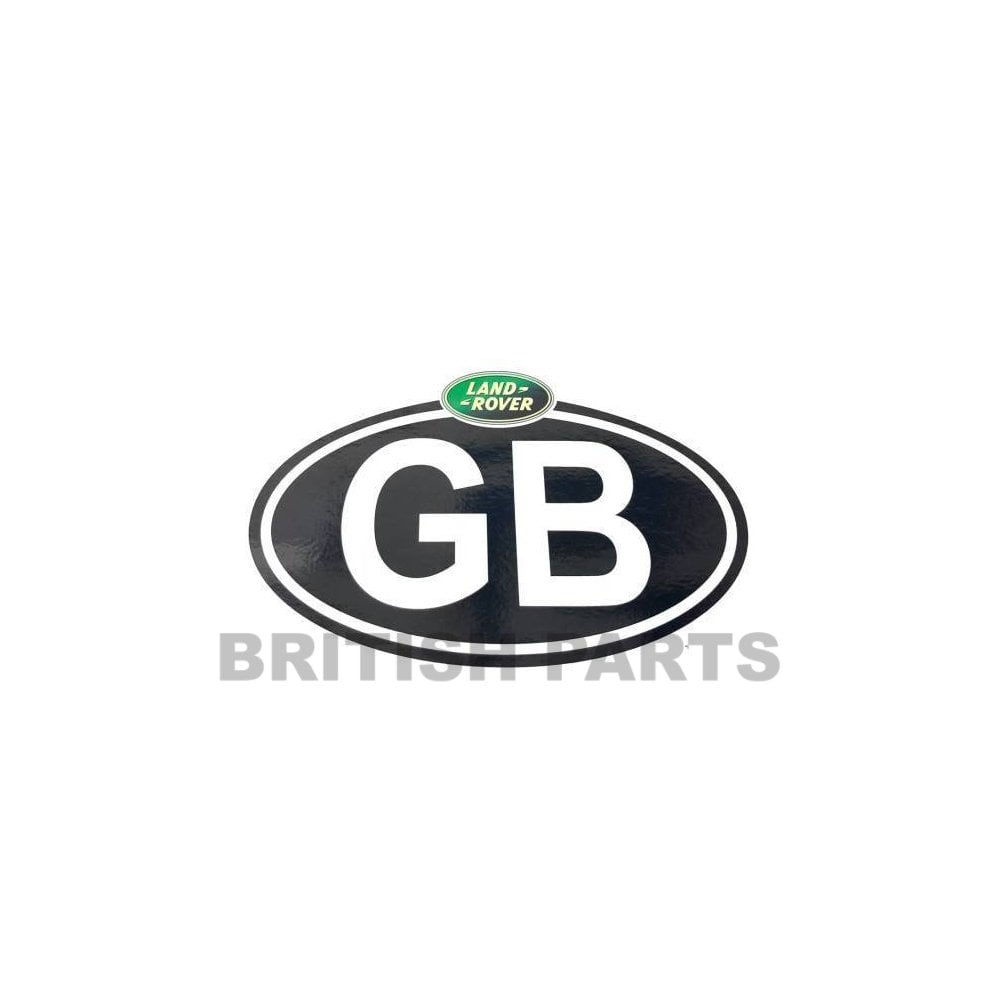 Gb Travel Sticker For Land Rover Range Rover From British Parts Uk Uk