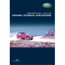 Range Rover Technical publication DVD