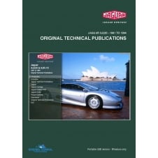 XJ220 Technical Publications